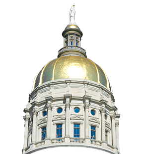 Georgia state capital dome